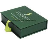 Libro rígido estilo de cajas de regalo con forma de libro/cinta de embalaje de regalo