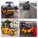 Ltma 6 Tonnen-hydraulische zusammengebaute Vibrationsstraßen-Rolle für Verkauf