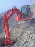 Excavador vendedor caliente de la rueda de la marca de fábrica Yrx85-8