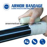 Сопротивление высокого давления быстрого исправления для протекающие трубопроводы ленточные устройства обвязки сеткой