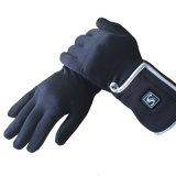 de winter wind navulbare batterij verwarmde handschoenen, openluchtsportuitrusting verwarmde handschoenen