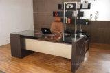 Mobiliário de metal elegante mesa de computador do escritório de couro (A015A)