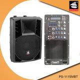 15 Zoll 250W EchoplastikActive PA-Lautsprecher PS-1115mbt USB-Ableiter-FM Bluetooth EQ
