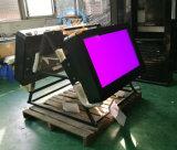 Die 32 Zoll-imprägniern schwarze Wand-Montierung IP65 im FreienLCD, der bekanntmacht Fernsehapparat-Spieler (MW-321OB)