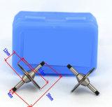 Funzione di alluminio di guida di CNC della guida della boccola del tubo affusolato della rotella lineare della puleggia dell'asta cilindrica