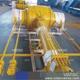 Soldar los extremos de la válvula de bola con el tubo de extensión