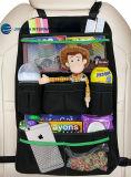 Carro durável Backseat Organizer para acessórios de viagem para bebé, Armazenamento de brinquedos para crianças, Protector de Banco de Trás / Tapete pontapé de saída