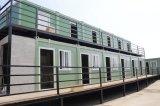 Casa modular pré-fabricada do recipiente do bloco liso do contentor de China