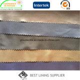 Rivestimento molle 100% del cappotto del rivestimento del vestito del sacchetto del rivestimento della saia 100d*100d del poliestere
