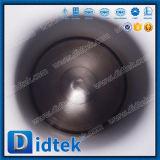 ISO9001 Didtek forjó el muñón Válvula de bola con una llave