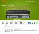 H. 264 8CH en tiempo real independiente de vigilancia por CCTV Onvif grabador de NVR