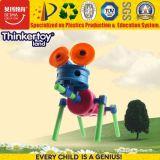 Joli pour l'éducation Kid's Blocs de construction en plastique ABS Animal Toy