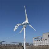 가로등 정원 점화 홈 사용 효율성을%s MPPT 책임 관제사 3 5 잎을%s 가진 100W 바람 발전기 48V AC