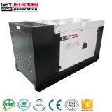 Generator 20kVA van de Consumptie 15kVA van de Brandstof van Genset van Perkins de Lage Super Stille