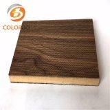 Décoratifs en bois Micro-Perforated absorbant le son panneau acoustique
