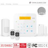 Accueil de la sécurité d'alarme antivol GSM avec le travail de la caméra IP