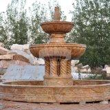 La colonne de la fontaine de granit Fontaine de la piscine de l'eau (GSF-120)