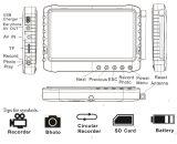"""5.8G 5"""" LCD HD Mini DVR cámara Baby Monitor sin monitor de pantalla azul con pilas, Registrador de la cámara"""