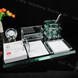 Het grote Bureau levert de Ambachten van Giftcrystal van de Boor van de Houder van de Pen van het Kristal