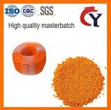 Llenado de CaCO3 amarillo Masterbatch de HDPE de inyección de PP