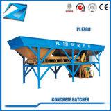 La serie PL1200 Batcher ligero para el bloque hueco de la máquina de proceso por lotes de concreto