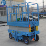 Il Mobile elettrico idraulico dello Shandong Scissor l'elevatore idraulico della coda dell'uomo