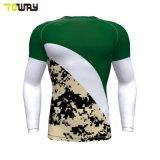 Sport Wear Yoga Sublimazione All'Ingrosso Camicia Compressione Giovani