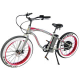 '' 500W 26X4 leistungsfähiges elektrisches Fahrrad-Schnee E-Fahrrad Fahrrad