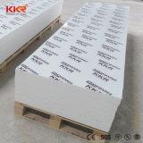 白いCorian 12mm枚のテーブルの上およびカウンタートップの物質的なアクリルの固体表面シート