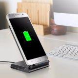 La moda al por mayor Q700 teléfono móvil de carga rápida de cargador inalámbrico para Smartphone