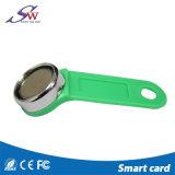 Intelligente ABS praktisches wasserdichtes RFID Keychain Em4305 mit Eisen-Ring