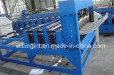 Machine à formater des rouleaux d'extrudeuse à sertir à la pression hydraulique