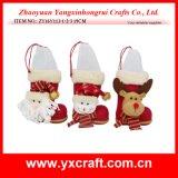 크리스마스 훈장 (ZY15Y149-1-2) 크리스마스 도매 선물 직물 저장 바구니