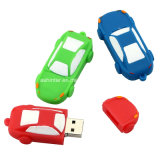 PVC Disque USB Mémoire Flash Forme de voiture USB Flash Drive