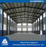 Gut entworfene Stahlkonstruktion-Werkstatt