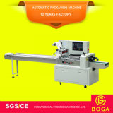 Máquina de embalagem automática horizontal da máquina de envolvimento do tecido facial