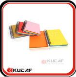 Cuaderno de encargo KCN-0078 del papel del espiral de la alta calidad