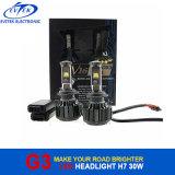 セリウムのRoHSの証明自動LEDのヘッドライト6000lm 60W H7 LEDのヘッドライトH1 H3 9005 9006 H4 H11