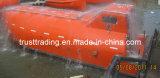 Embarcation de sauvetage de chute libre, bateau de la vie totalement fermé