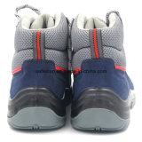 Ботинок работы типа спорта замши кожаный дешевый с стальным пальцем ноги