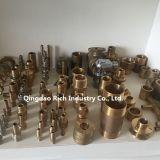 Forjado en latón Tuberías / forjado en caliente Forro en caliente / frío / acero / aluminio / piezas de forjado en acero forjado / forjado