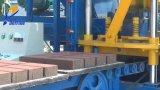 Máquina de fabricación de ladrillo semiautomática de la ceniza de la máquina/de carbón del bloque Df3-20