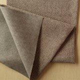 Tissu ordinaire tissé de sofa de Polyester100%