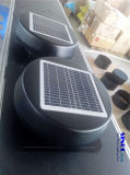 12W Ventilator van de 12inch de Ingebouwde Zonnepaneel Aangedreven Uitlaat voor Dak (SN2013009)