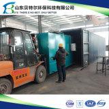 installation de traitement Integrated des eaux d'égout 10-600tons/Day, facultative