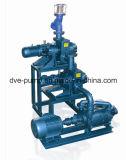 압축 가능한 가스를 소모하기 위하여 사용되는 물 반지 진공 펌프