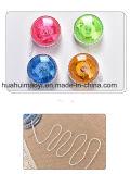 Esfera de piscamento personalizada relativa à promoção do io-io do diodo emissor de luz, io-io do brinquedo