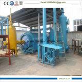 Refinação de borracha usada à planta Fuel Oil um grupo de 5 toneladas