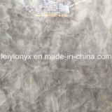 Onyx hielo Gris Piedra de Cristal Natural