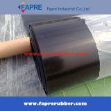 Stuoia di gomma nera del rullo della lamiera sottile di colore rosso SBR
